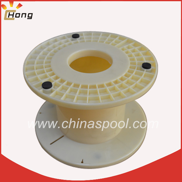 plastic bobbin 300mm with center hole dia.100mm