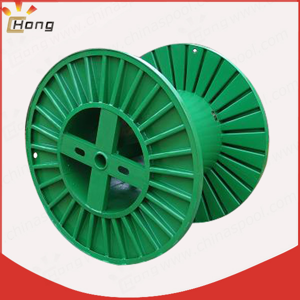 corrugated steel spool