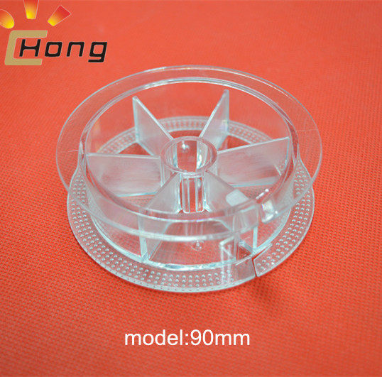 plastic bobbin for fishing wire