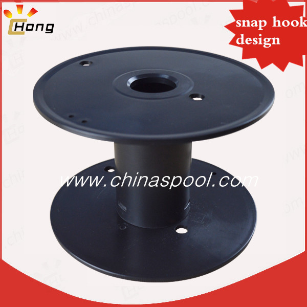 165mm plastic spool for wire snap design