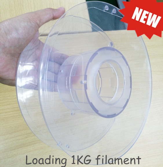 transparent spool for 3d printer filament(item 2)